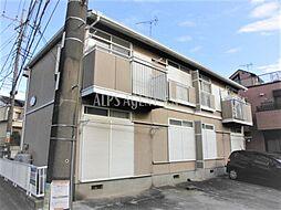 神奈川県横浜市神奈川区西寺尾3丁目の賃貸アパートの外観