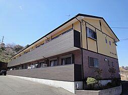 福岡県宗像市稲元4丁目の賃貸アパートの外観