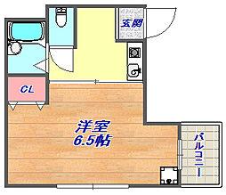 兵庫県神戸市灘区倉石通3丁目の賃貸マンションの間取り