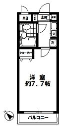 第13宮田ビル[2階]の間取り
