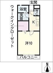 SALTYII[2階]の間取り