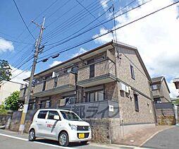 京都府京都市北区西賀茂神光院町の賃貸アパートの外観
