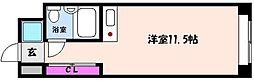 神戸新交通六甲アイランド線 アイランドセンター駅 徒歩5分の賃貸マンション 5階1Kの間取り
