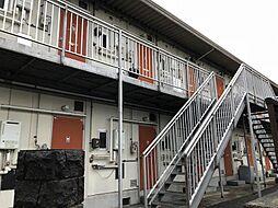 岡山県岡山市北区奥田本町の賃貸アパートの外観