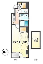 カーサルカ(Casa Luca)[8階]の間取り