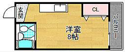 伊予ハイツ[2階]の間取り