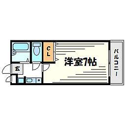 彩華I[2階]の間取り