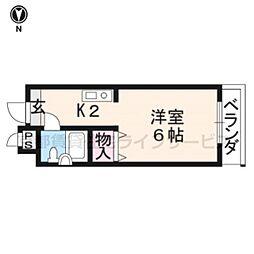 めぞんICHI[301号室]の間取り