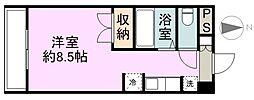 WINDOM新栄[1階]の間取り