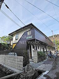 京都府京都市左京区松ケ崎樋ノ上町の賃貸アパートの外観