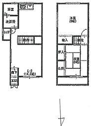 [一戸建] 兵庫県尼崎市猪名寺2丁目 の賃貸【/】の間取り