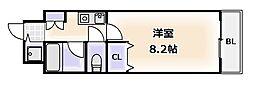 雅苑[4階]の間取り