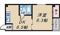 センチュリーマンション2号館[204号室]の間取り