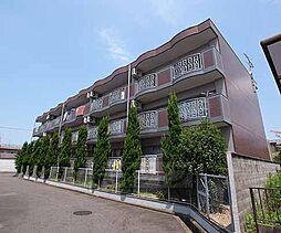 京都府城陽市富野南清水の賃貸マンションの外観