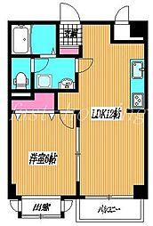 東京都武蔵野市吉祥寺本町3丁目の賃貸マンションの間取り