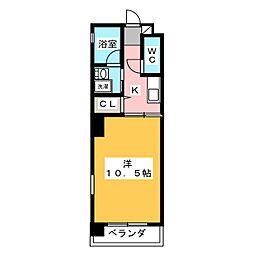 HIBINO RISE[10階]の間取り