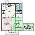 間取り,2DK,面積49.05m2,賃料4.3万円,JR常磐線 水戸駅 3.2km,,茨城県水戸市元吉田町