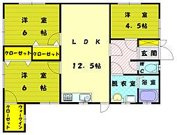 [一戸建] 福岡県福岡市東区三苫7丁目 の賃貸【/】の間取り