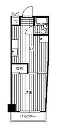 セフティ吉野町[2階]の間取り
