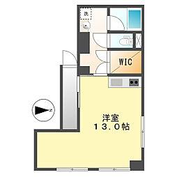 丸の内パークマンション[307号室]の間取り