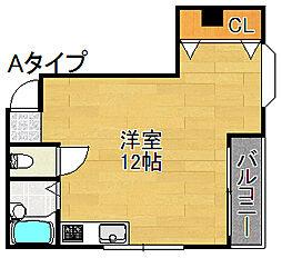 木原マンション[2階]の間取り