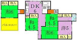 [タウンハウス] 東京都足立区江北3丁目 の賃貸【/】の間取り