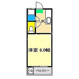 小松マンション[2階]の間取り
