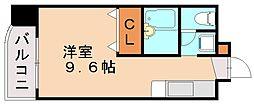 ロイヤルコーポ長尾[4階]の間取り