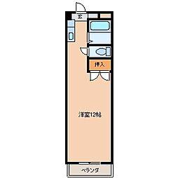 コンバーチブル[203号室]の間取り