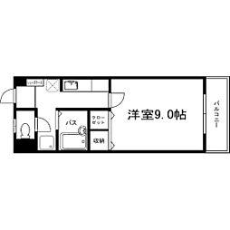 サクシード浅川[5階]の間取り