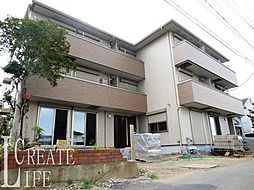 埼玉県さいたま市桜区西堀10丁目の賃貸アパートの外観