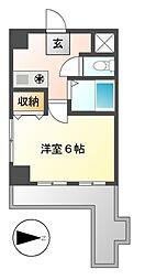 イヅミマンション[2階]の間取り