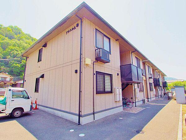 広島県安芸郡海田町国信1丁目の賃貸アパートの外観