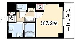 愛知県名古屋市熱田区玉の井町の賃貸マンションの間取り