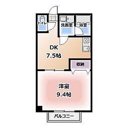 RYUS HOUSE[2階]の間取り