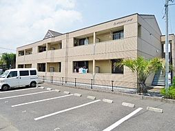 千葉県茂原市八幡原の賃貸アパートの外観