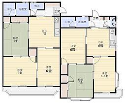 シャルマン北本B棟[1階]の間取り
