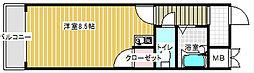 エスポワール御崎[5階]の間取り