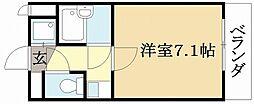 パル大久保[3階]の間取り