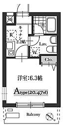 Mariage21[301号室]の間取り