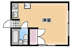 アリス本庄第2[D号室]の間取り