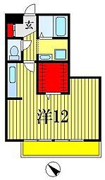 K'SシャンブルVI[1階]の間取り