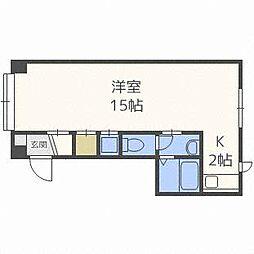 ヌーベル・98[2階]の間取り