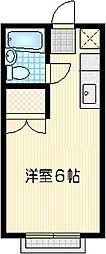 コスモジュン[201号室]の間取り
