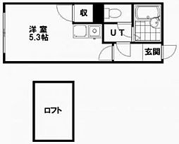 N13[1階]の間取り