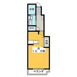 サン・フローラ[1階]の間取り