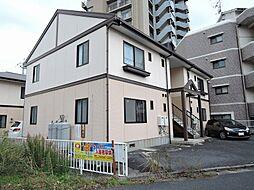 福岡県北九州市八幡西区里中1丁目の賃貸アパートの外観