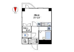 メゾン・オランジュ[305号室]の間取り