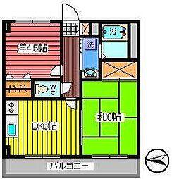 エムステージ[3階]の間取り