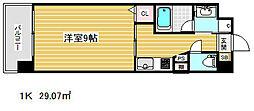 アーバネックス新神戸[3階]の間取り